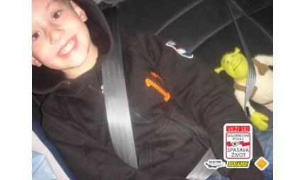 Sigurnosni pojas / Djeca u vozilu