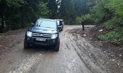 "ODRŽAN TRENING ""OFF ROAD""  VOZILA"