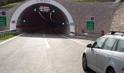 Snimanje tunela 1. mart