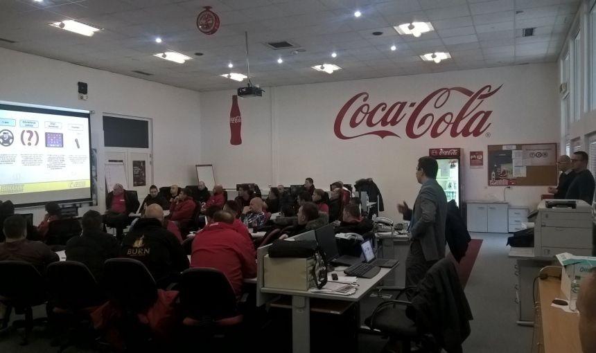 "TRENING ZA UPOSLENIKE  ""Coca-Cola HBC B-H d.o.o."""