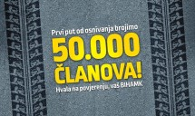 BIHAMK DOSTIGAO BROJ OD 50.000 ČLANOVA